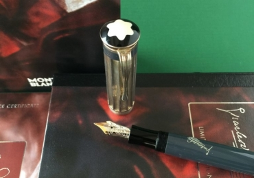 Montblanc Writes Edition 2001 Charles Dickens fountain pen