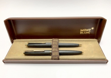 Vintage Montblanc No.280 Ballpoint Pen and No.250 0.9mm Mechanical Pencil Set