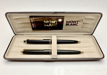 Vintage Montblanc PIX No.25 and No.250 Brush Finished 0.9mm Mechanical Pencils