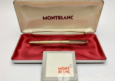 Vintage Montblanc 1246 Fitted With 18K Gold Nib Fountain Pen