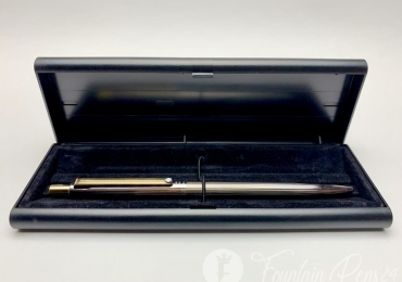 Vintage Montblanc S-Line No.2929 Rhodium Coated Ballpoint Pen