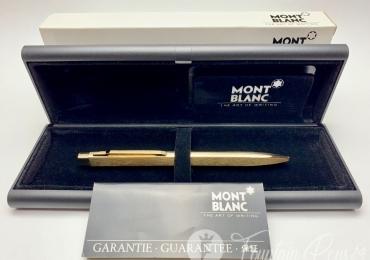 Vintage Montblanc Leonardo No.20280 Titan Gold Finish Ballpoint Pen