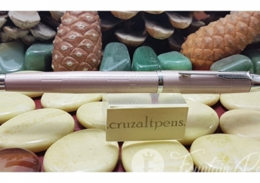 FOUNTAIN PEN PARKER, COLECCIÓN IM BRUSHED ROSA