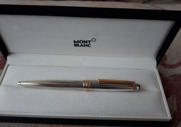 MONTBLANC Solitaire Sterling Silver 925 Ballpoint Pen