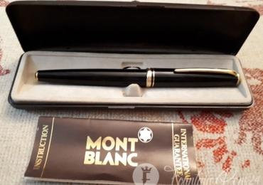 Montblanc Generation Black & Gold Fountain Pen Full Set Box & Papers  Pluma Estilografica