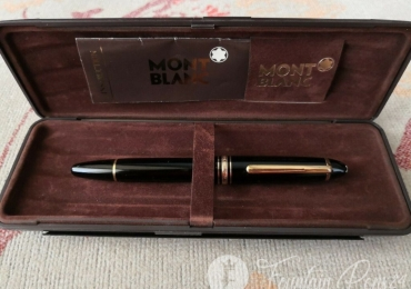 Vintage Montblanc Meisterstuck 146 LeGrand Fountain Pen Nib F 14K Monotone