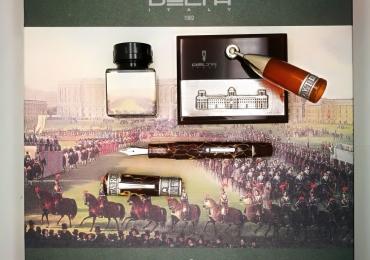 Delta La Citta Reale Reggia di Caserta Limited Edition Fountain Pen Complete